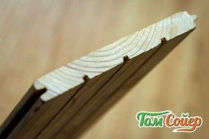 Кляймеры для доски из лиственницы