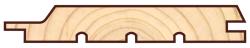 Скандинавская фасадная доска п рофиль UTV