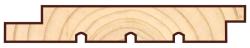 Скандинавская фасадная доска Профиль UYS