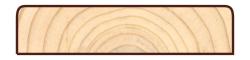 Скандинавская фасадная доска Профиль КМ2R