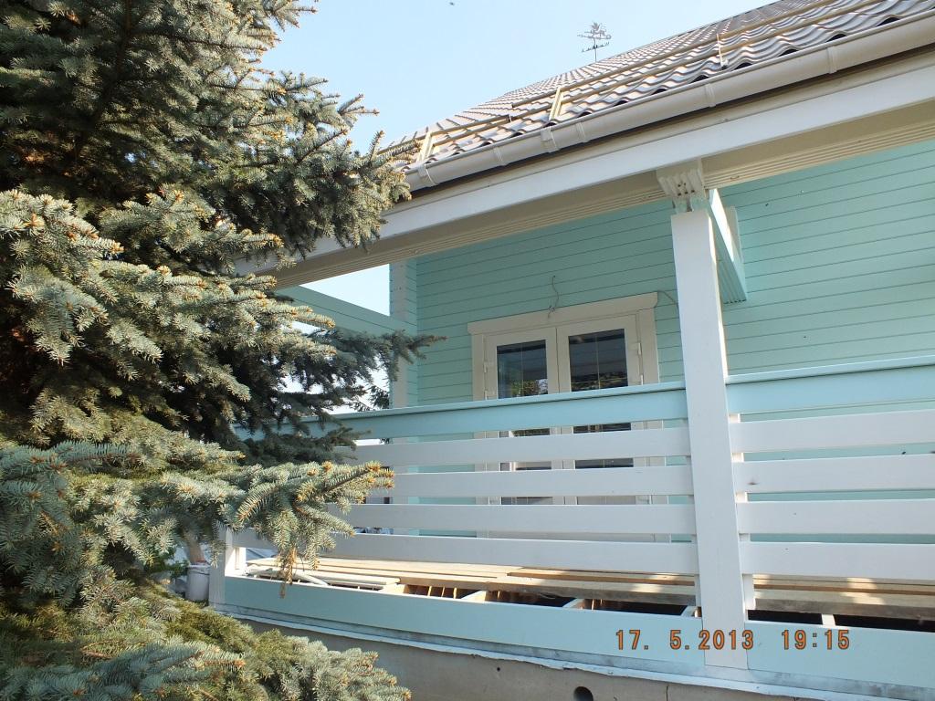 Фото укрывистой наружной покраски дома